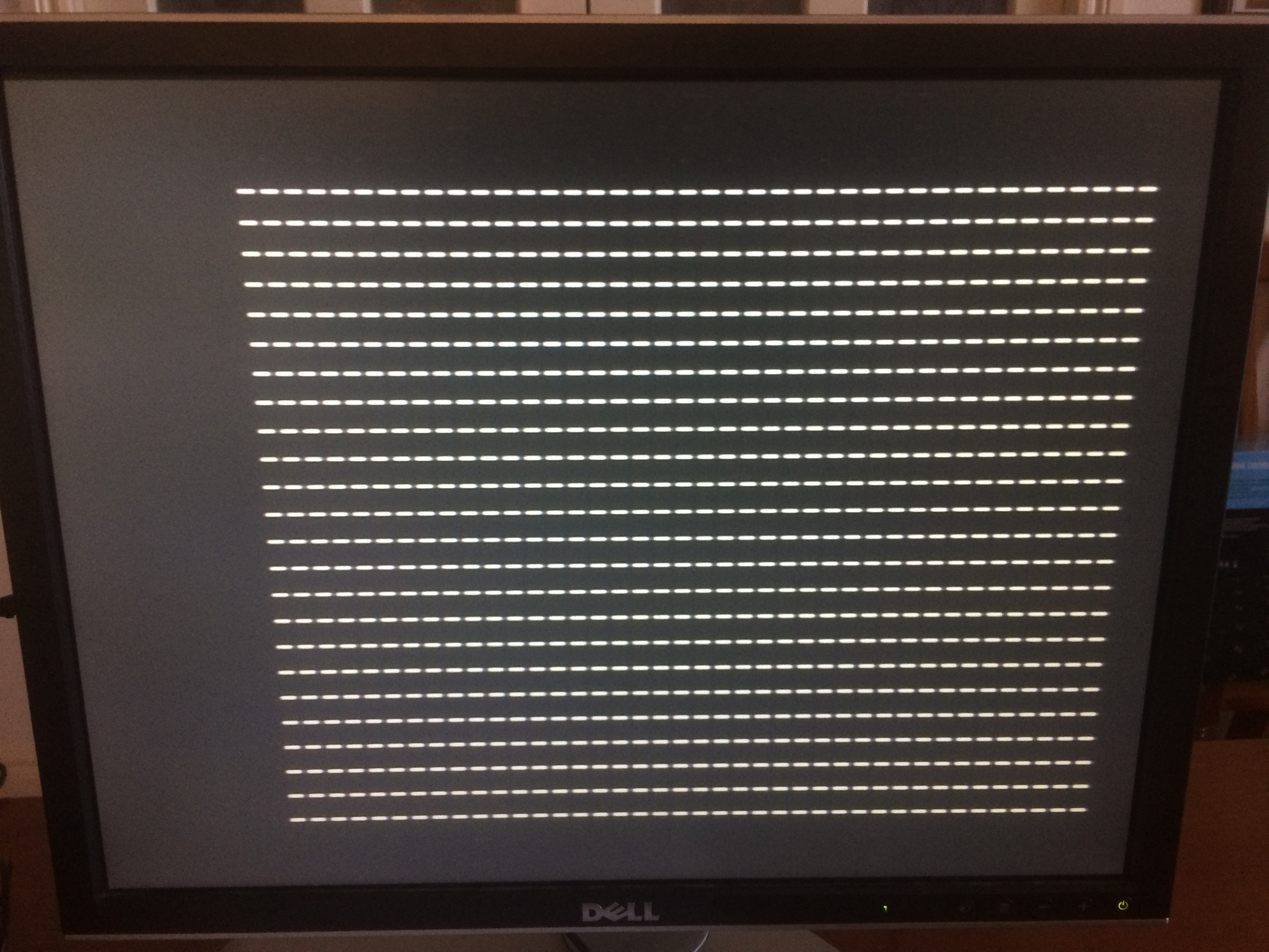 Apple 1 Screen