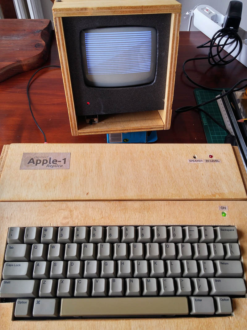Apple-1 Replica ARM Cortex while loading from input line