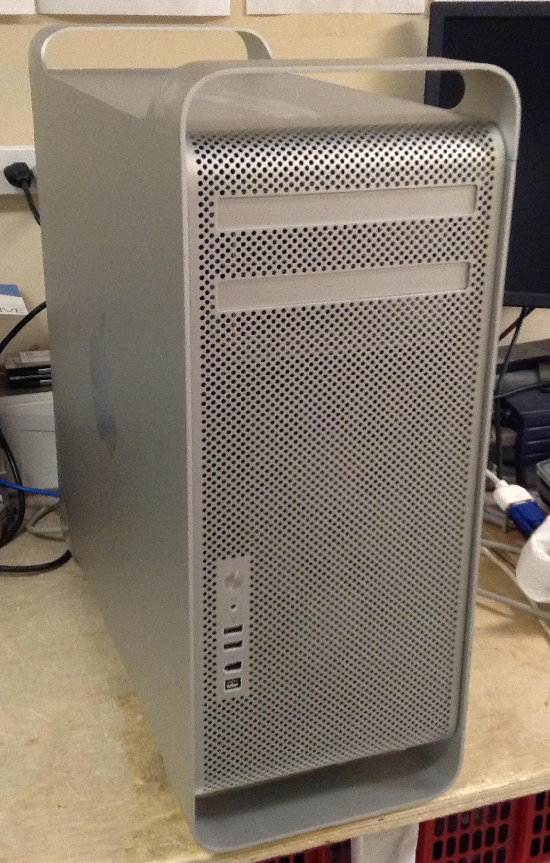 Apple Mac Pro Dual 2 8ghz Quad Core Intel Xeon Ma970ll A