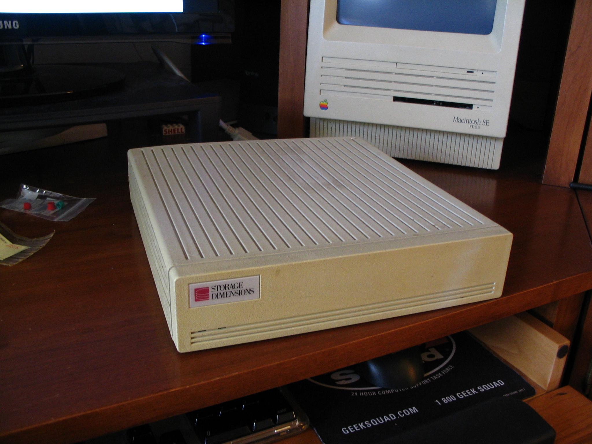 macintosh se hard drive