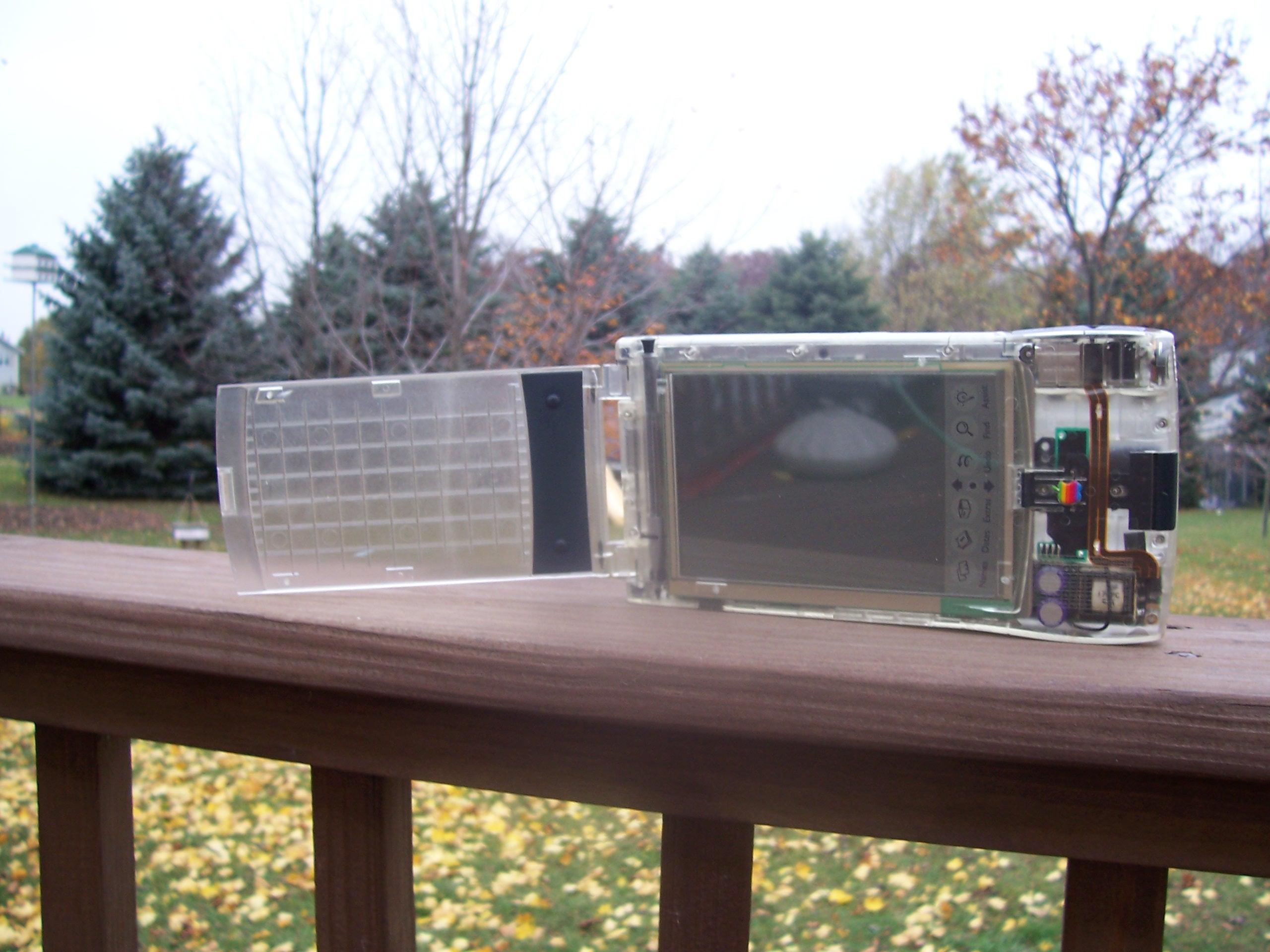 Apple Newton MessagePad 110 (Clear Case) Production Unit