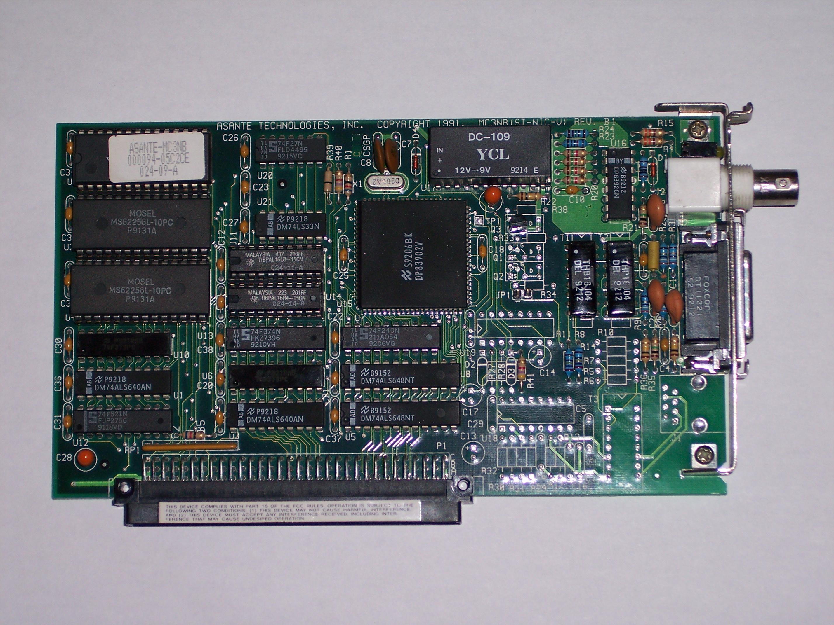 Asante MacCon MC3NB 10Base 2 (Thinnet)