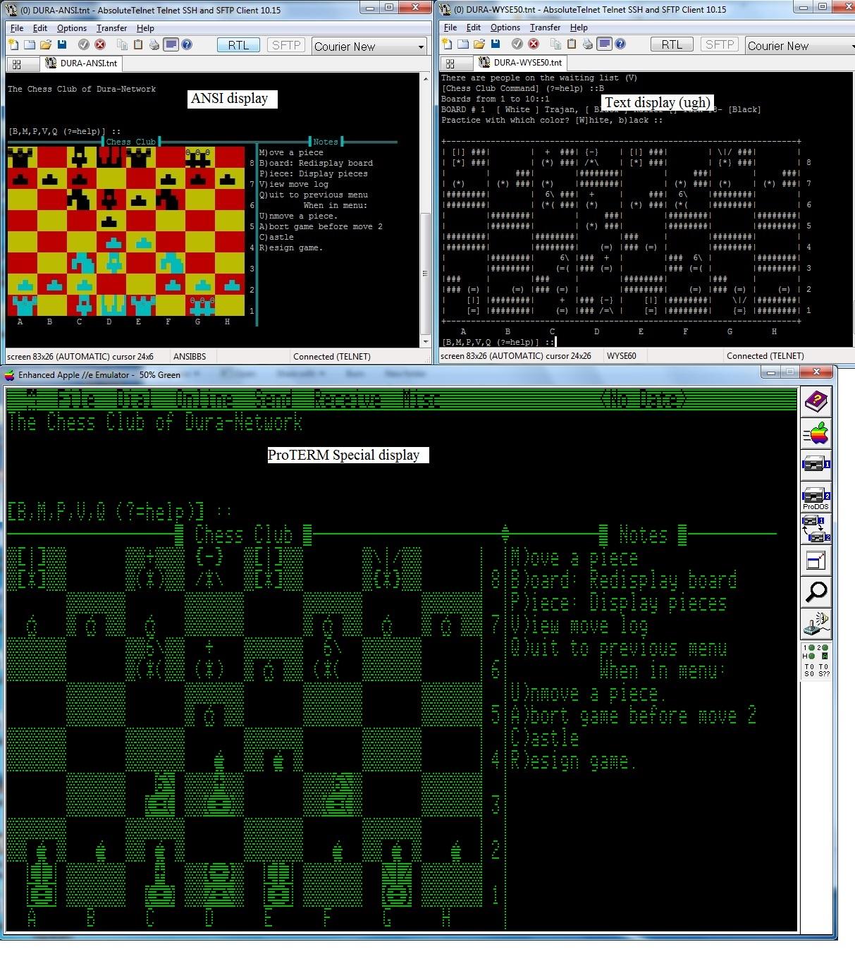 Chess Club screenshots on Dura-Network