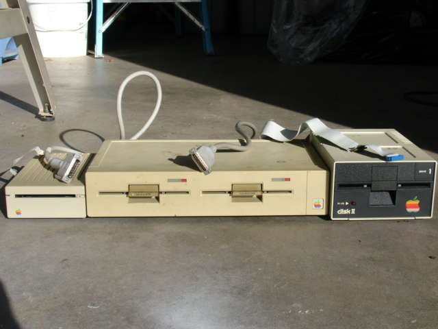 Apple II disk drives
