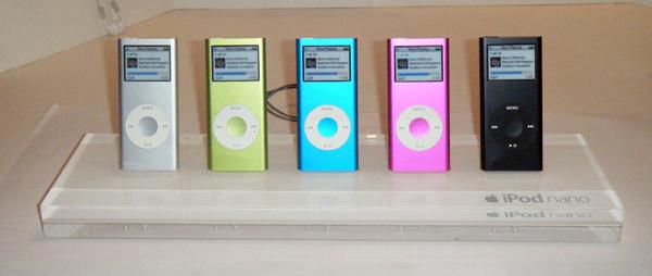 iPod Store Displays