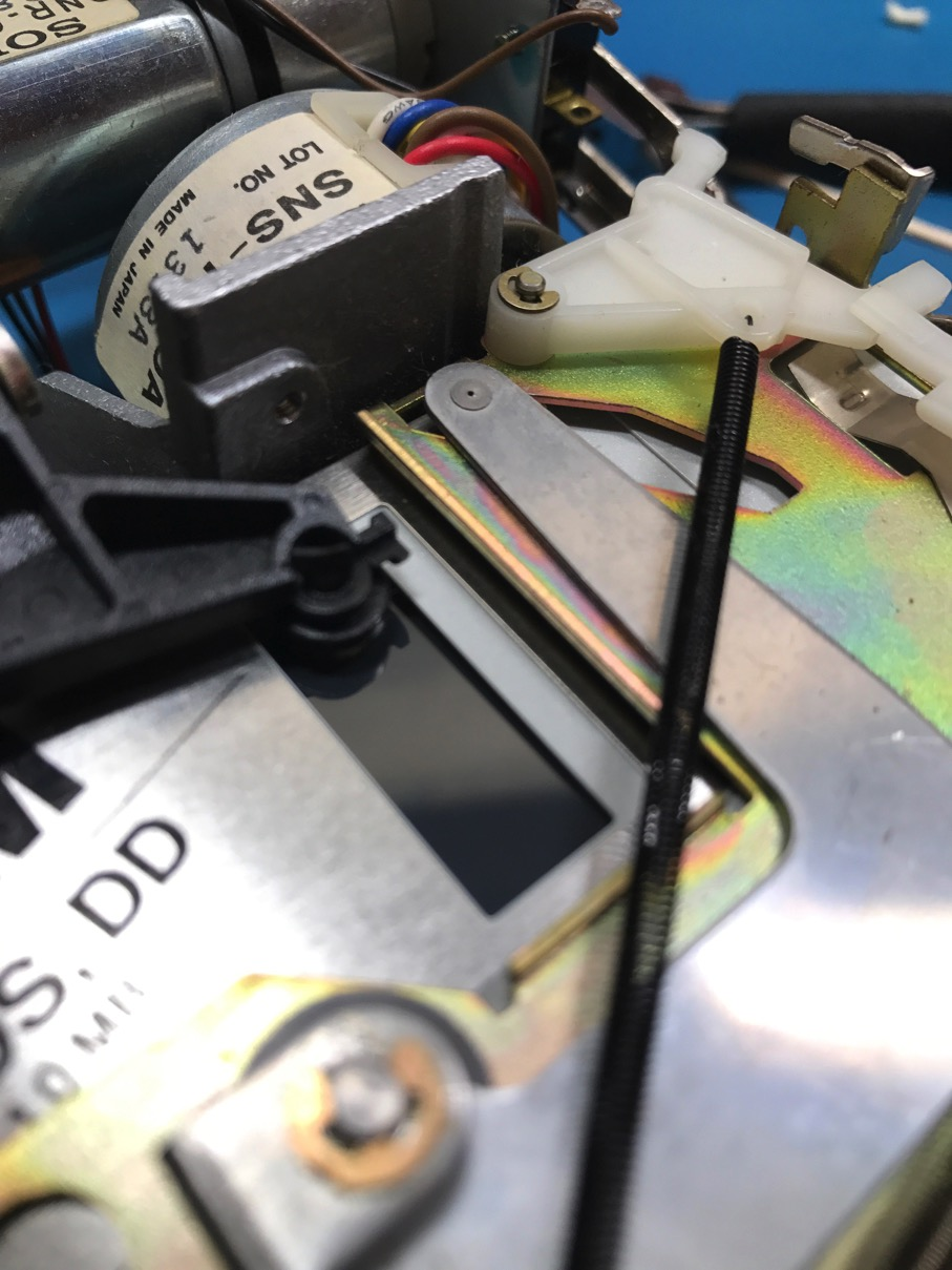 Mac 400k Felt plastic replacement pic1