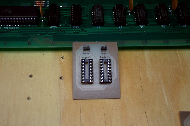 Apple ][+ to Apple 1 Keyboard Adapter