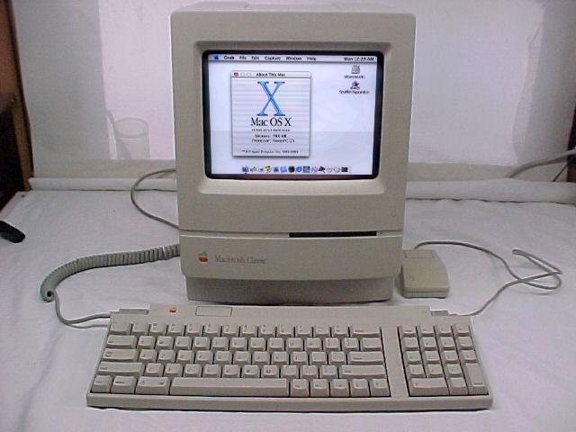 Classic w/ Mac OS X