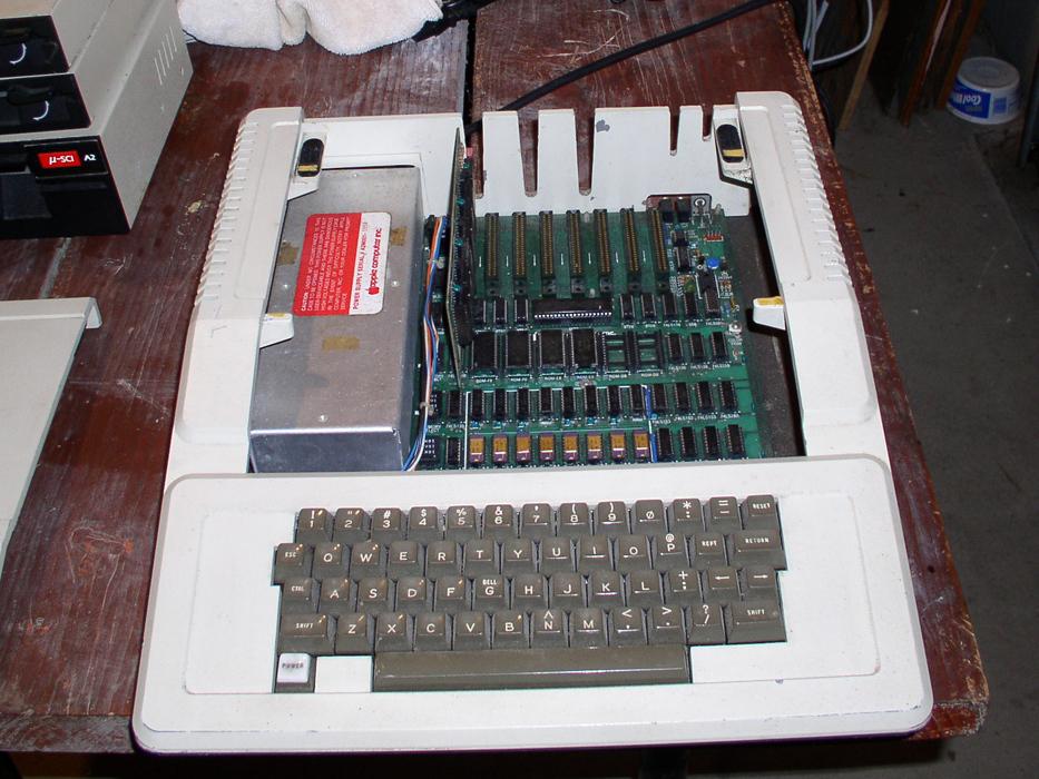My REV 0 Apple ][ before restoration