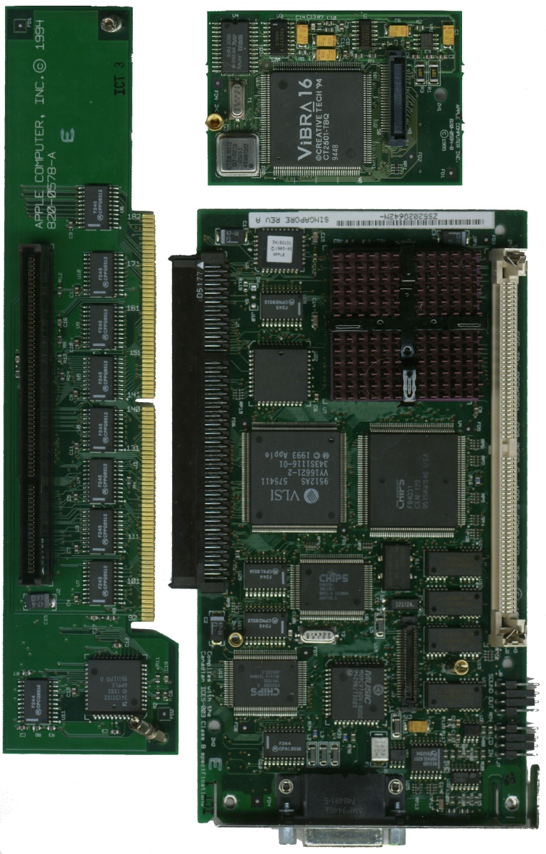 Apple 6100 DOS Front