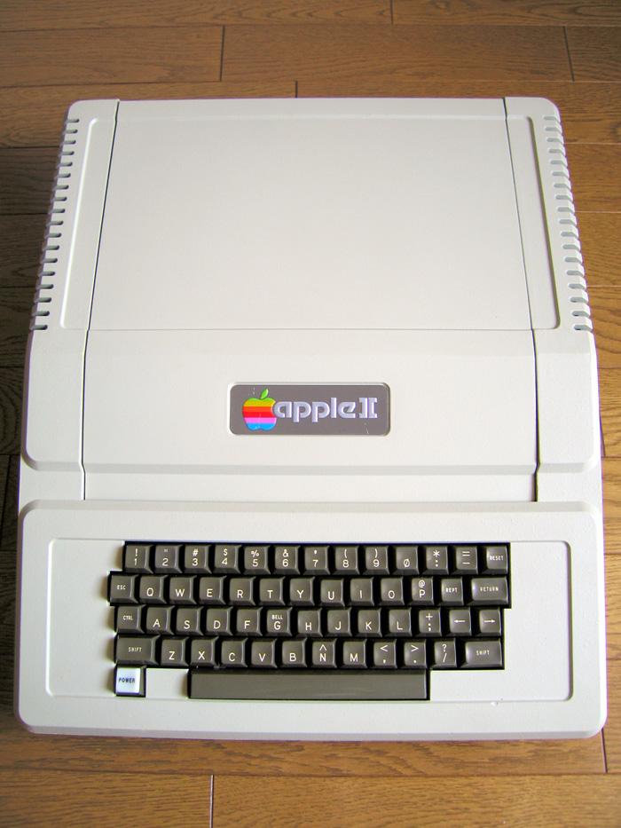 My REV 0 Apple ][ (Serial #5394) after restoration.