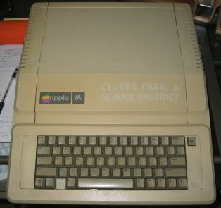 My Apple ][e from eBay