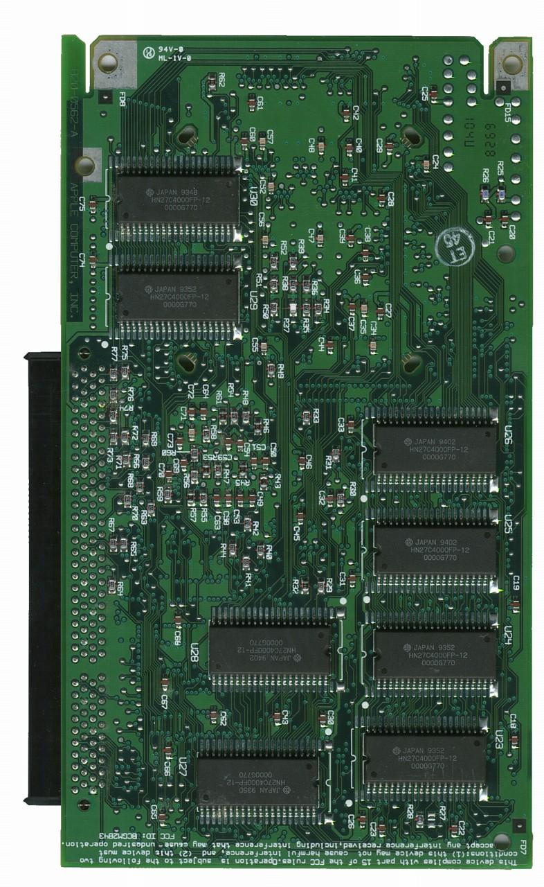 Apple PPC 601 Back