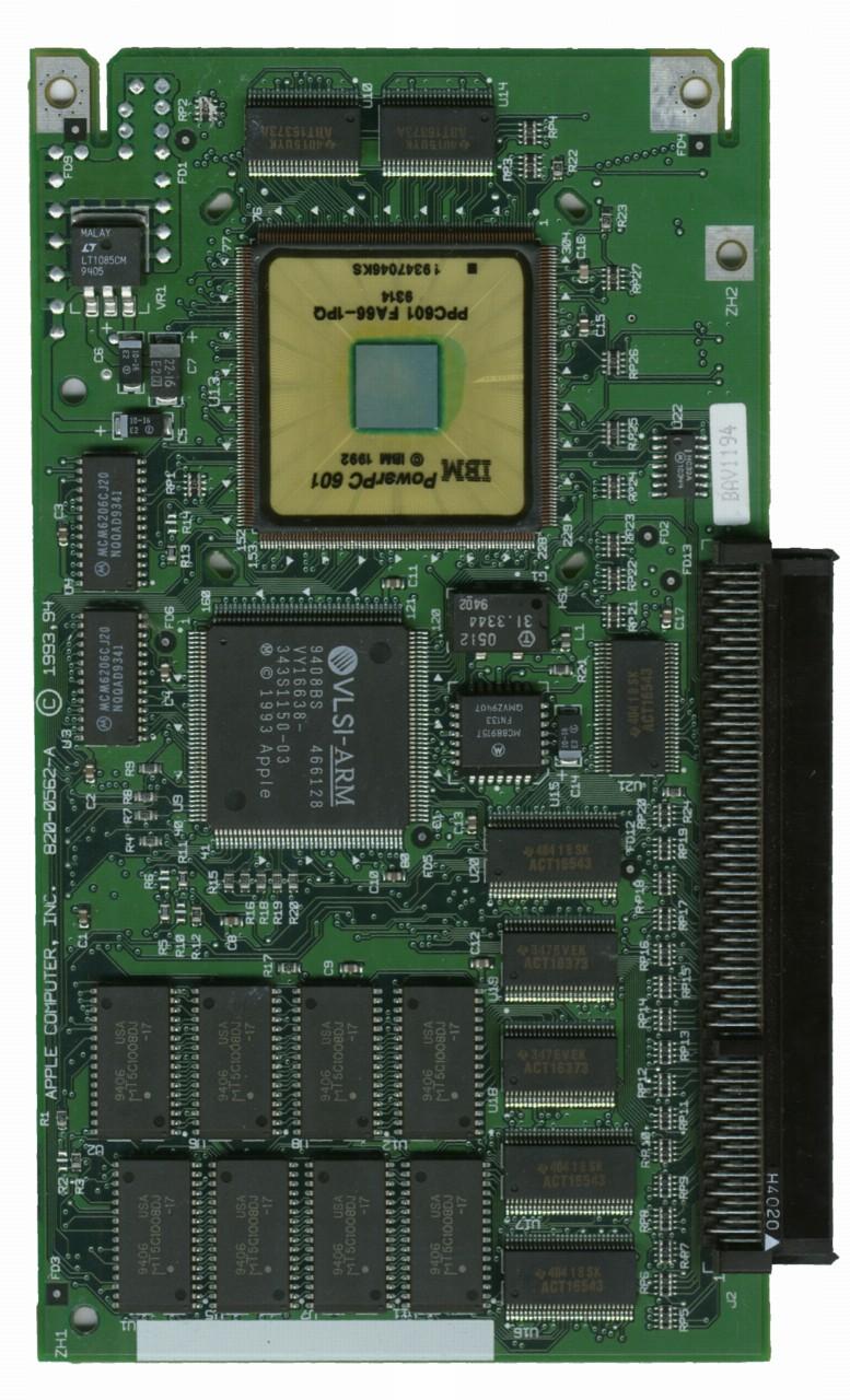 Apple PPC 601 Front