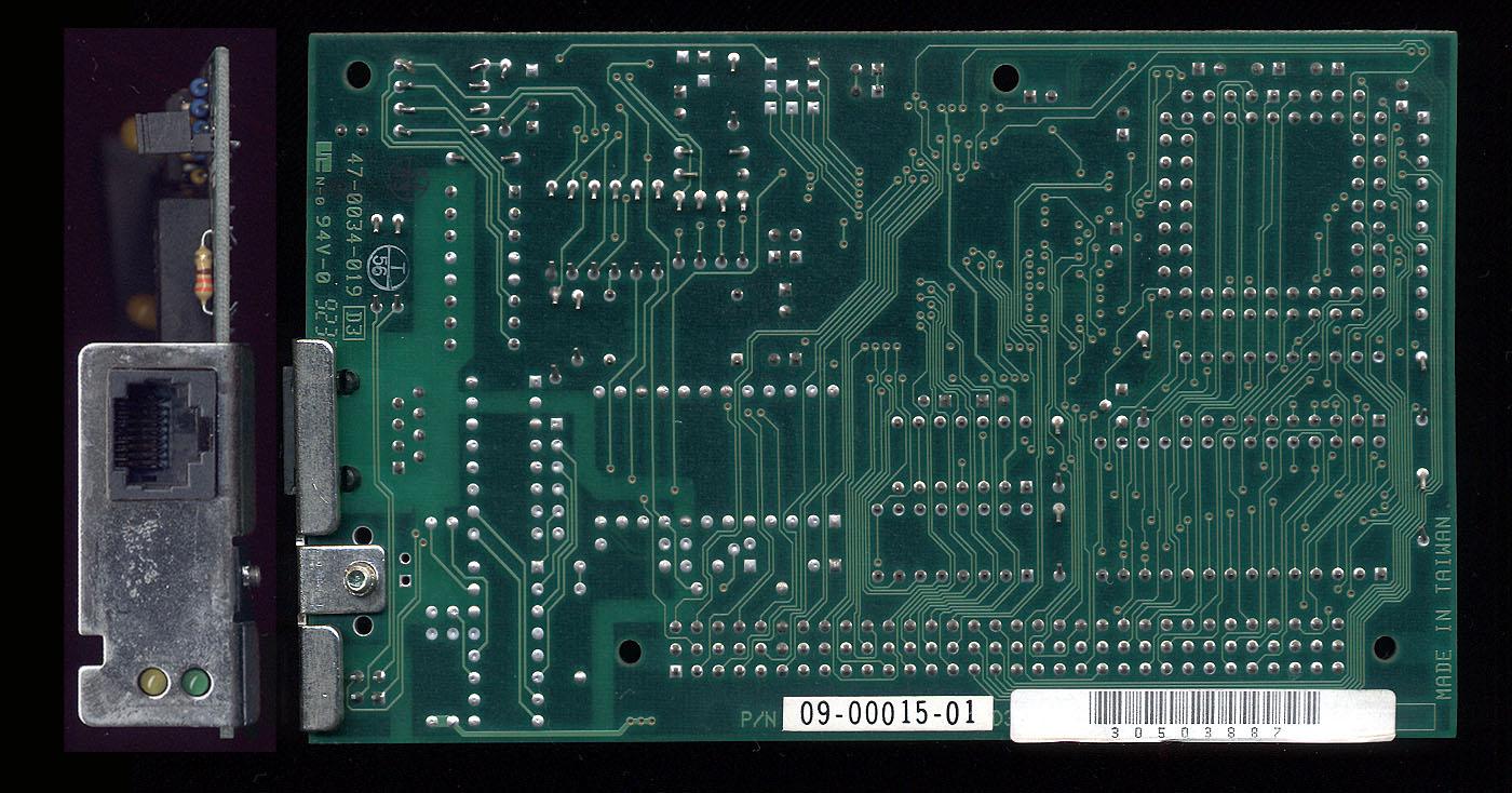 Asante LC PDS Ethernet Back