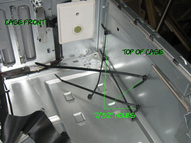 MDD to ATX - power supply mount