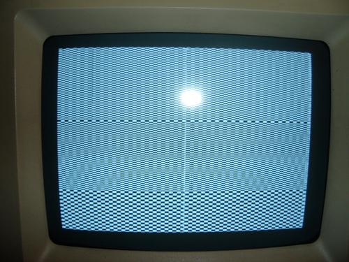 IIfx ROM screen artifacts