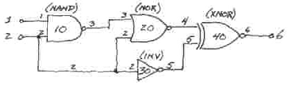 Apple I - LOGAN circuit