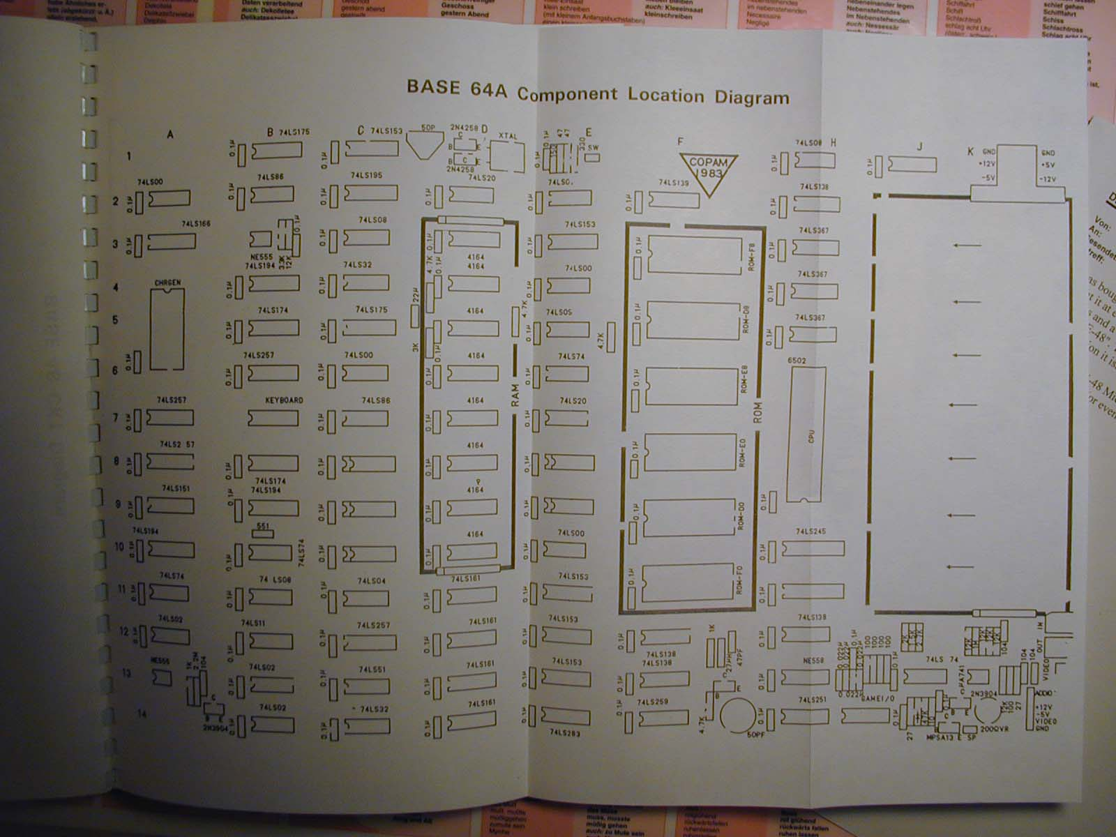 Base 48 - component diagram