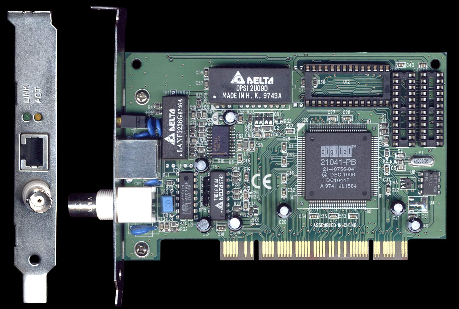 Dayna e.pci 10Mb Front