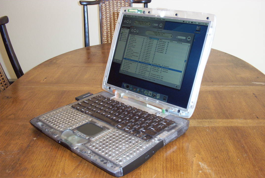 "Clear-cased Powerbook G3/333 ""101"""