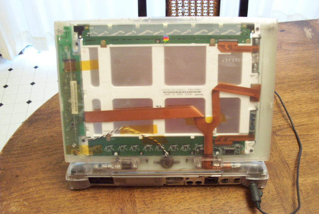 Clear Powerbook 5300 back