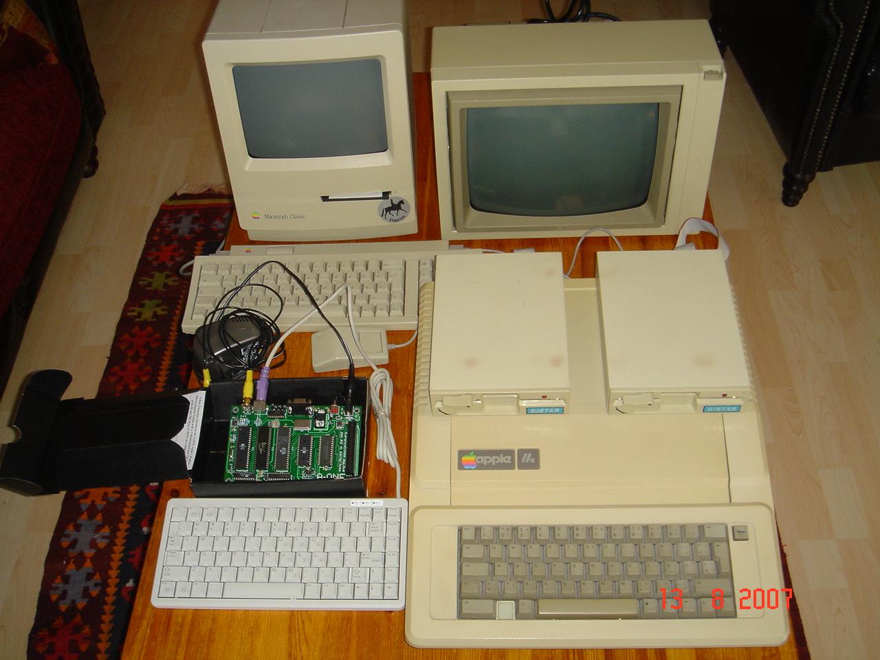 My 3 Classic Apple Computer
