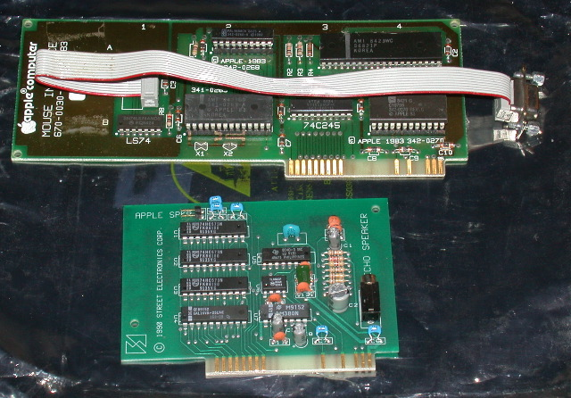 Mouse interface, echo card
