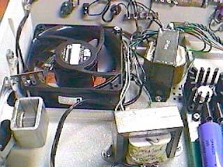 Apple I - fan and speaker