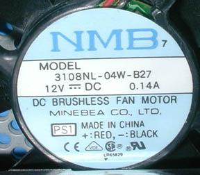 Blue Smoke 2 - fan label