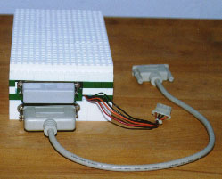 Compubrick SE - hard drive back