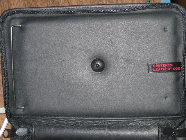 Inside of Newton case
