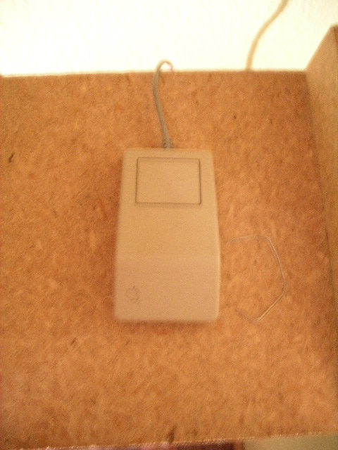 Origanal Mac SE FDHD mouse