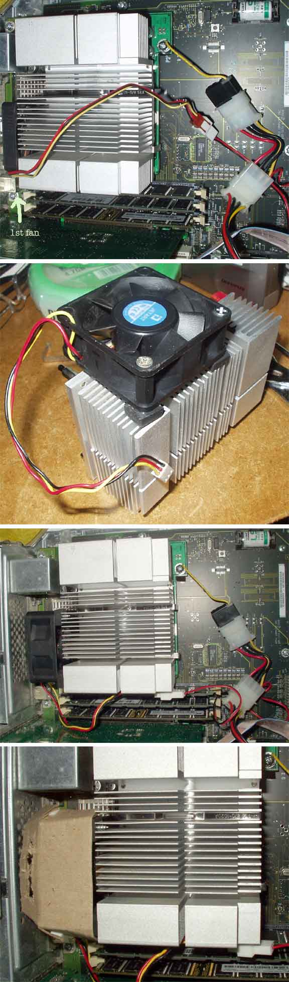 QS processor installed in DA
