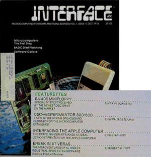 Apple I - Interface Age