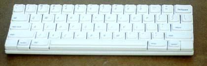 Cassie keyboard - front view
