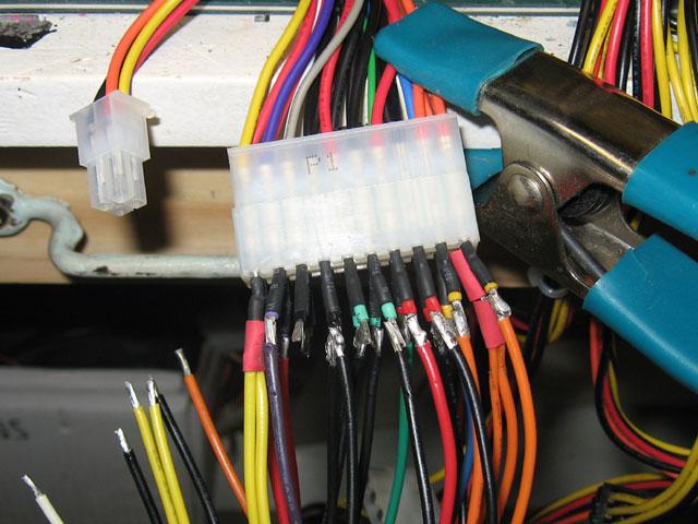 MDD to ATX - wiring loom
