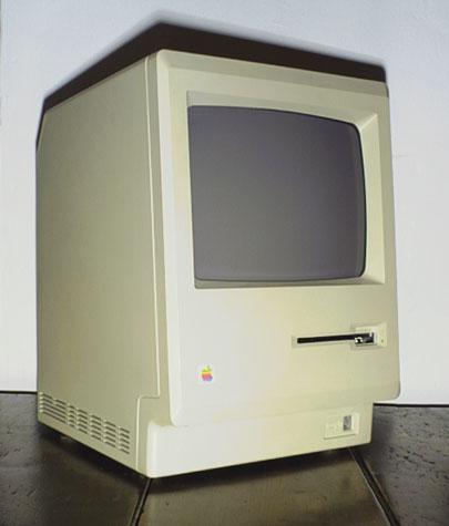 Mac 128k - front
