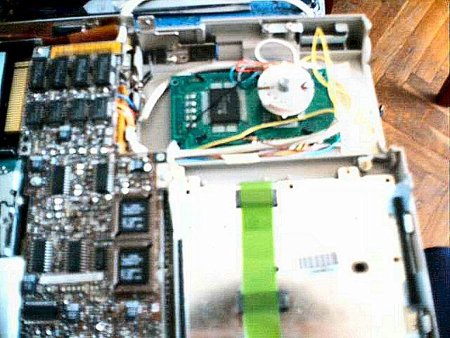 My Compaq LTE Mini LCD Hack