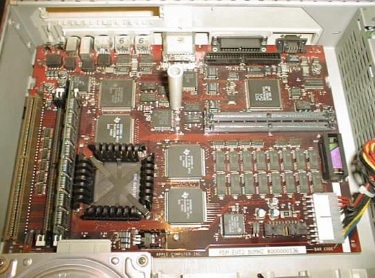Piltdown Man - motherboard