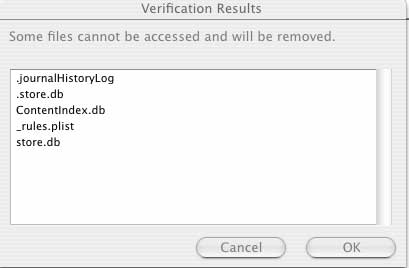 Cannot Access Files