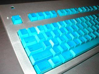 Crusader - Keyboard Closeup