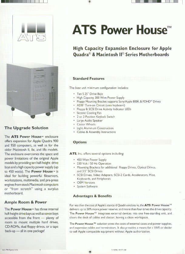 ATS Power House - Page 1