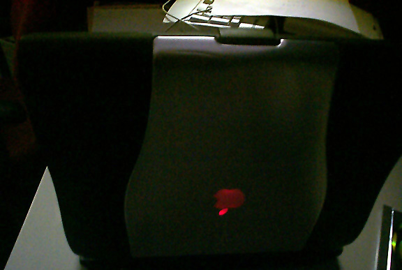 Darth Maul PowerBook - dark