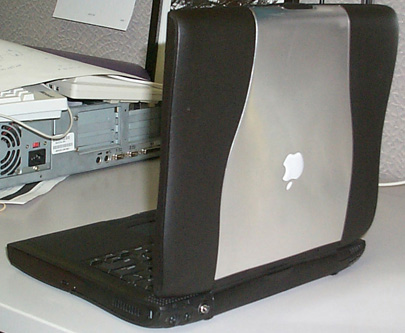 Darth Maul PowerBook - rear