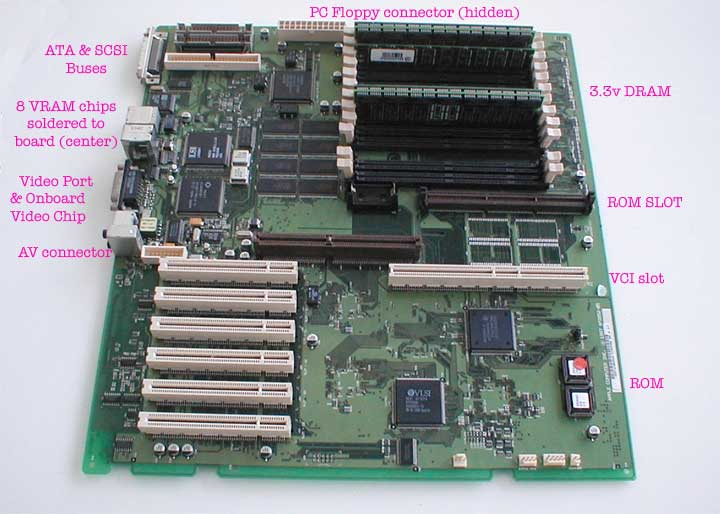 PEX motherboard described