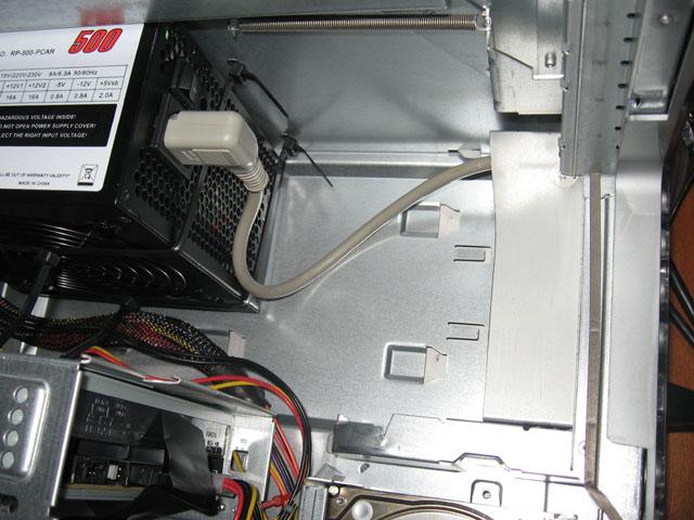 MDD to ATX - plug installed