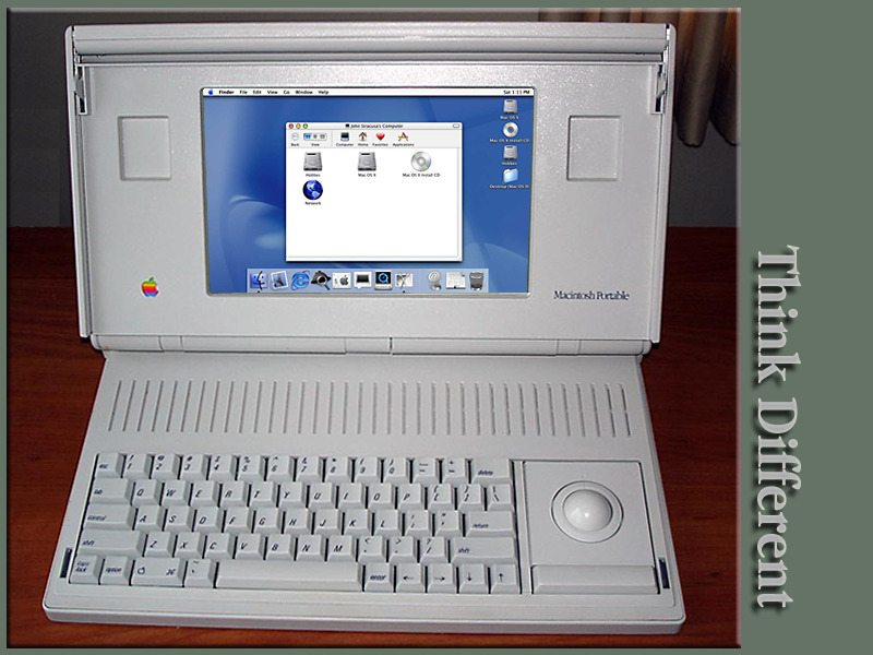 Macintosh Portable-Think Different