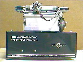 Apple I - printer