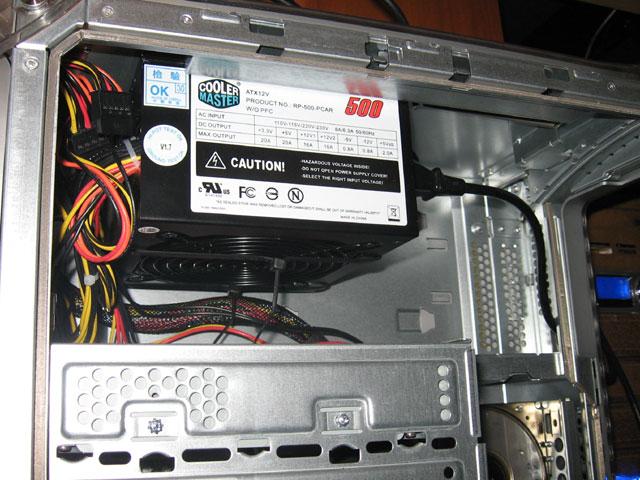 MDD to ATX - psu mounted